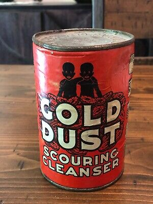 New Old Stock Unopened 14 Oz. Can of Fairbanks Gold Dust Scouring Cleanser
