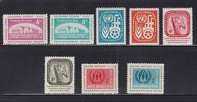 United Nations-New York 1959-1961 Year Sets. Mnh