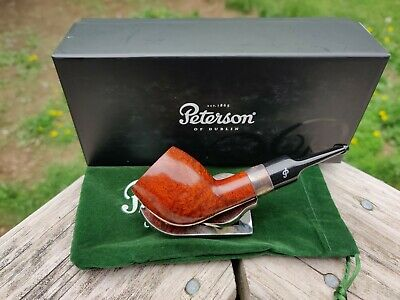 Peterson Pipe of the Year 2017 Smooth Devil Anse New Unsmoked 1 of 500 Birdseye!