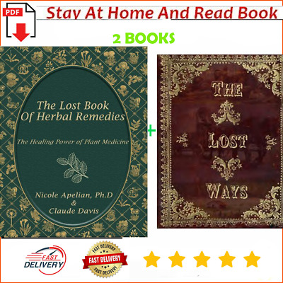 The Lost Book of Herbal Remedies & The Lost Ways by Claude Davis P.D.F✅