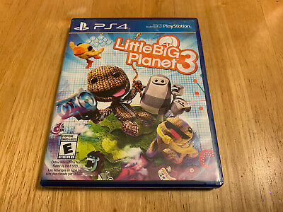 LittleBigPlanet 3 - PS4 (TESTED WORKING)