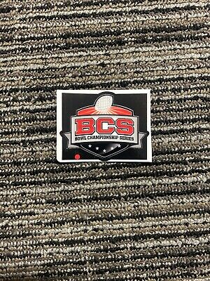 BCS Bowl Full Size Football Helmet Decal Helmets RARE 1 Qty Decal