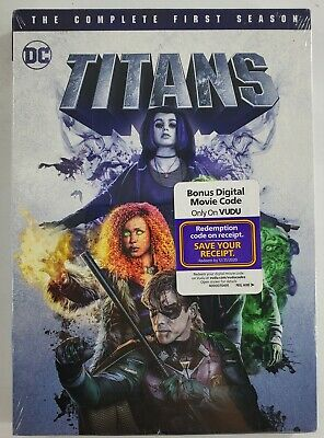 Titans: The Complete First Season [New DVD] 2 Pack, Amaray Case