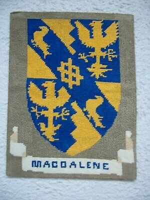 Magdalene College Cambridge Woven Tapestry Crest