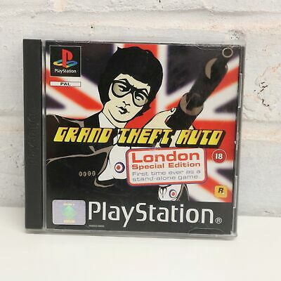 Grand Theft Auto ( Gta ) - Londres Edición Especial - sony Psone PS1 Juego - Vgc