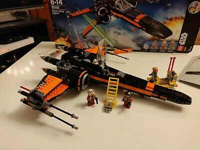 LEGO - 75102 Poe's x-wing f - Star Wars - Jeu de Construction -