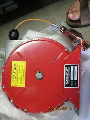 Reelcraft Retractable Grounding Reel- 50ft.L 100 Amps SINGLE Cable - NEW