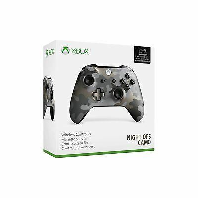 Microsoft Official Xbox One S Wireless Controller Night Ops Camo New Sealed