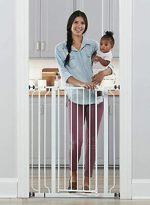 Regalo Easy Step Extra Tall Walk Thru Baby Gate - TOUCHLESS LOCAL PICK-UP ONLY