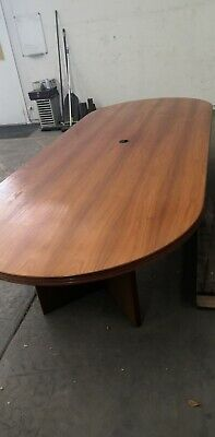 Office Boardroom Table Meeting Table Oval  3m long