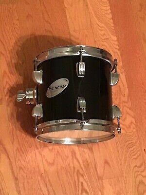 """LUDWIG ACCENT 8"""" TOM Gloss Black"""