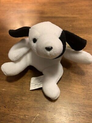 Ty Beanie Babies Spot the Dog With Tag, Style 4000, D.O.B. January 3rd, 1993