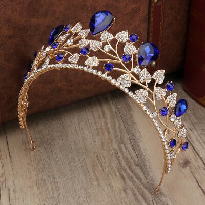Crystal Tiara Wedding Bridal Bridesmaid Princess Headband Crown Headpieces