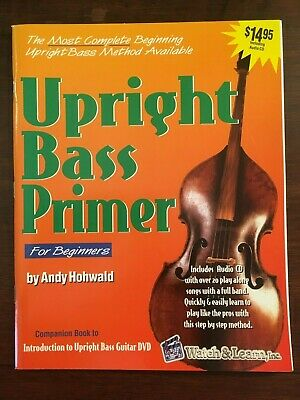 Watch & Learn Upright Bass Primer Book  with CD NEW