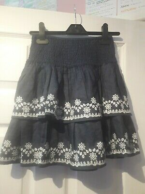 Next  embroidered Ruffle Skirt Age 8