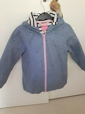 Joules Girls Lightweight Jacket Age 7