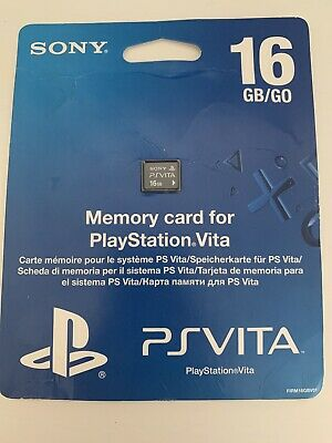 Official genuine Sony PlayStation Vita (PS Vita) 16Gb memory card