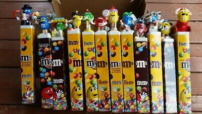 LOT of 12 M&M euro characters on stands RARE New Unsealed