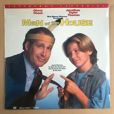 Man of the House Letterbox Laserdisc Chevy Chase