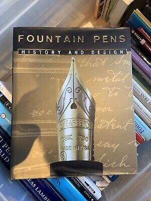 Fountain Pens - History And Design Book - Very Rare