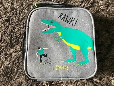 Joules Get Packing Dinosaur Lunch Box School and Getaways Good Clean Condition