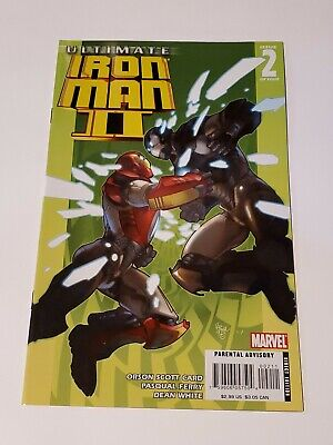 Details about  /Ultimate Iron Man 2 #4 May 2008 Marvel Comics Scott Card Ferry White