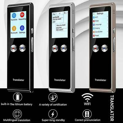 70+ Smart Languages Translator Intelligent Instant Real Time Voice Pocket Device