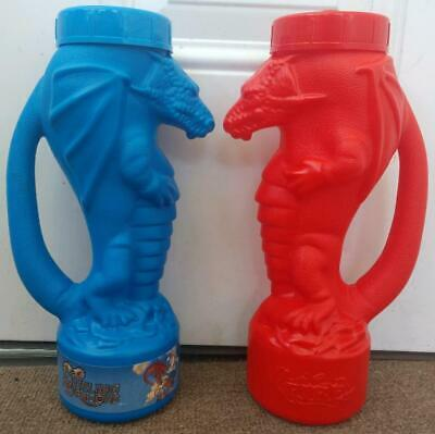 Universal Islands of Adventure Dueling Dragons sipper cups pre Harry Potter
