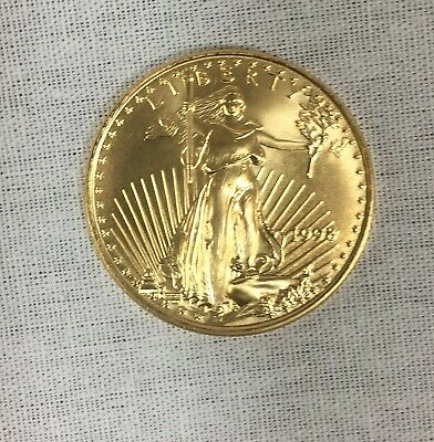 $10 1/4 oz Gold American Eagle Coin, (1998) Uncirculated