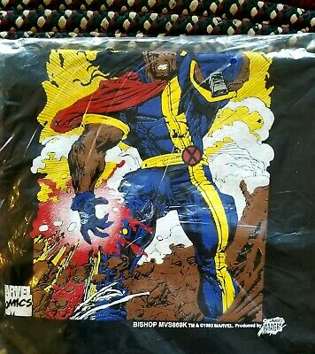 Vintage 1993 Marvel Bishop T shirt sealed in orginal bag KIDS SIZE XL
