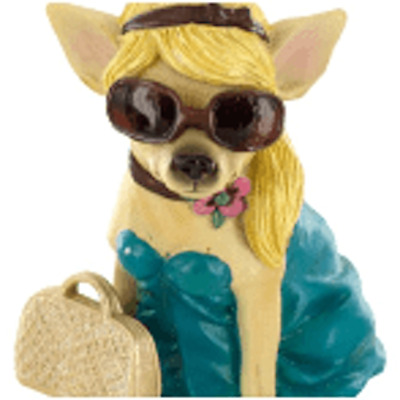 Aye Chihuahua Fashion Figurine
