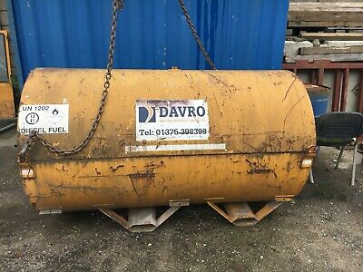 Diesel fuel bunded tank, 950 litres - Used condition
