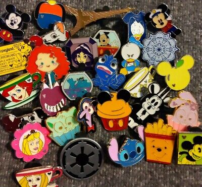New Disney Trading Pins-Lot of 50-No Duplicates-Free Shipping