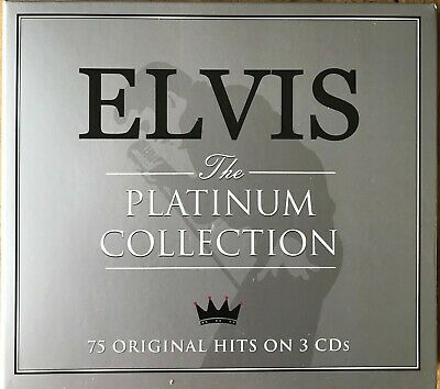 Elvis Presley - The Platinum Collection! 75 Original Hits on 3 CDs!