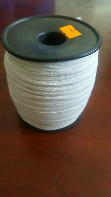 3mm Flat Elastic Band black & White  200m Ship From Canada