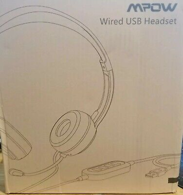 Mpow 071AB USB Headset/ 3.5mm Computer Headset with Microphone Noise Cancelling