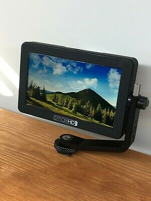 "SmallHD FOCUS 5"" HDMI On-Camera Monitor with Box, Battery, and Cables"
