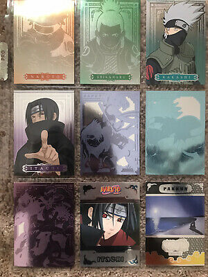 Naruto Trading Cards Holographic Lot