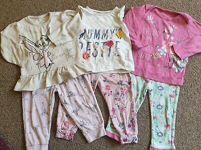 Baby Girls Pyjama Bundle 12-18 Months