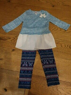 Lovely 2-piece top and leggings set in excellent condition (age 5) from America