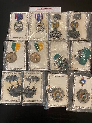 Mixed Lot of Vintage German Volksmarch Medals