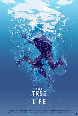 The Tree of Life (Variant) - Mondo Poster by Tomer Hanuka - Edition of 125
