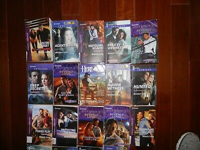 19 Beverly Long Harlequin Intrigue Paperback Books