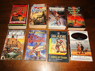 Time travel alternate history science fiction fantasy paperback book lot of 8
