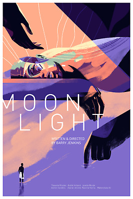 Moonlight - Mondo Poster by Sara Wong - Edition of 225 barry jenkins