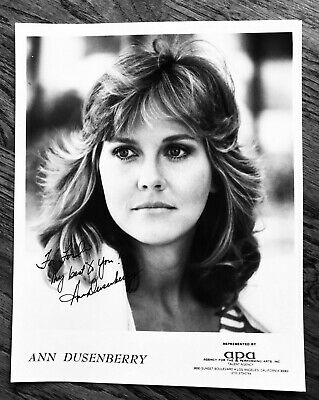 Ann Dusenberry, Signed 8 x 10 Photo, Jaws 2, Cutter's Way