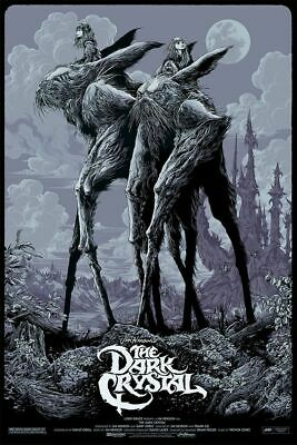 The Dark Crystal (Variant) - Mondo SDCC Poster by Ken Taylor - Edition of 175