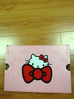 Girls Red Hello Kitty Converse sneakers size 2 Youth
