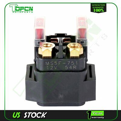 New Starter Relay Solenoid For Yamaha Grizzly 660 Yfm660Fa 4X4