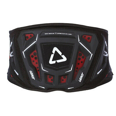 Leatt Mx And Enduro Mens Body Armour Kidney Protection - Black All Sizes